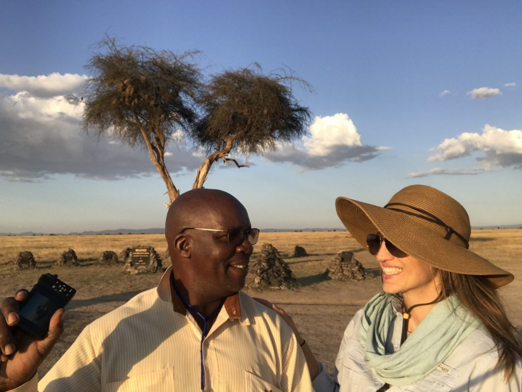 10. Having a laugh with my wonderful Monograms driver-guide, Julius