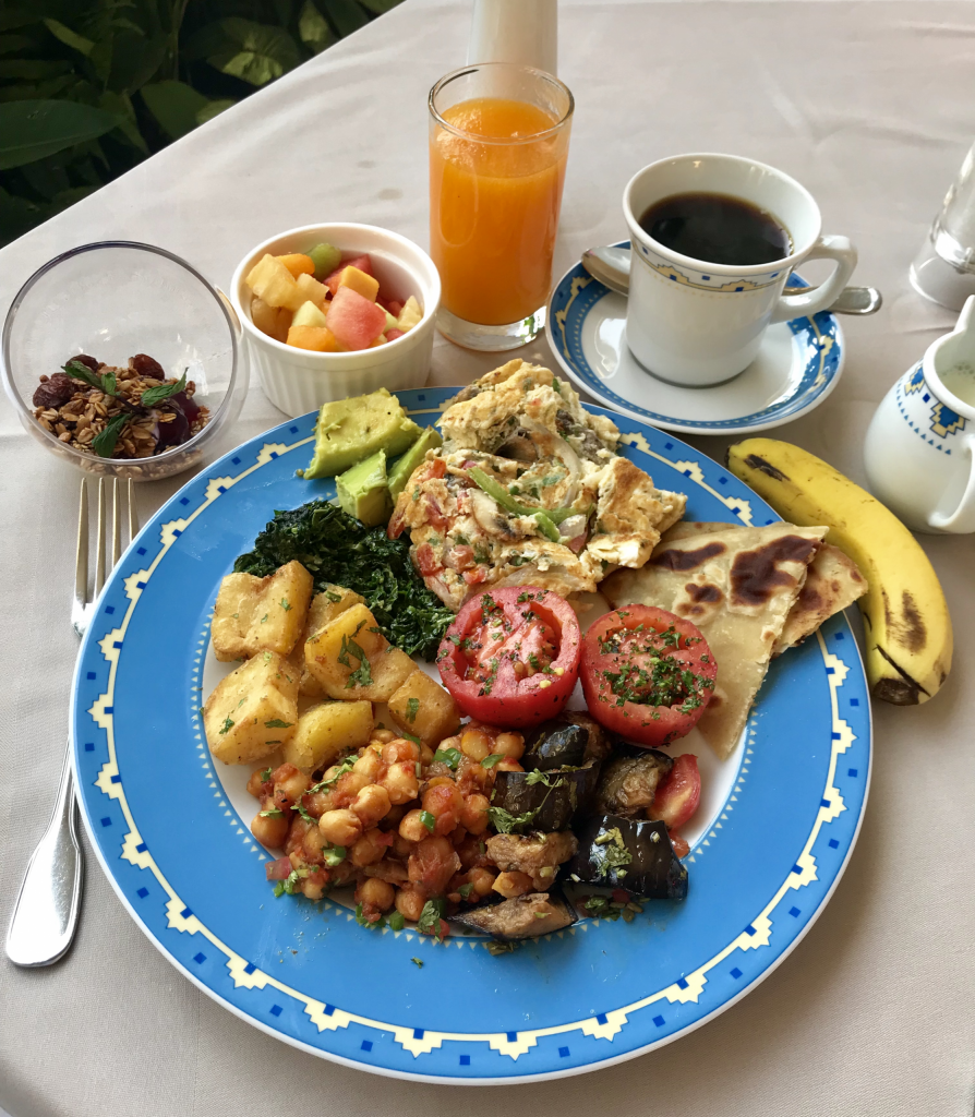 4. My first Kenyan breakfast at Nairobi Serena Hotel
