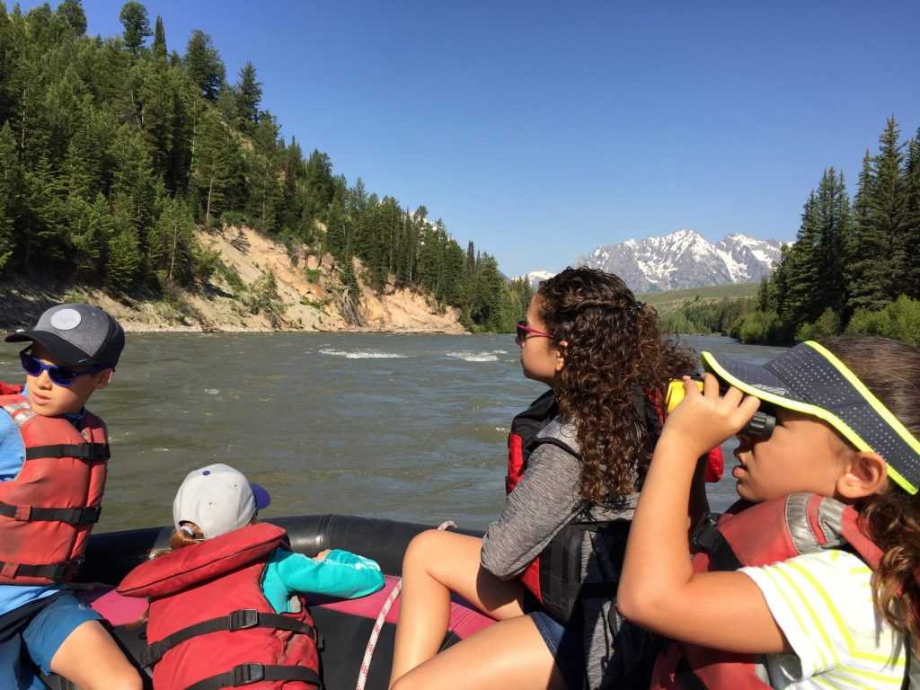 Melissa's Daughters Whitewater Rafting