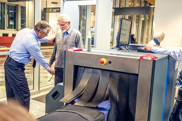 Older-Man-Being-Screened-at-Airport-Secutiry