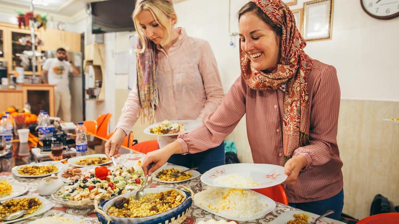 Iranian cooking