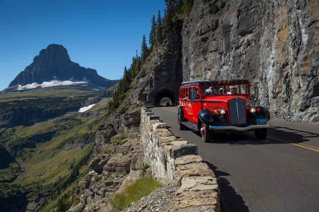Glacier NP Red Bus 5